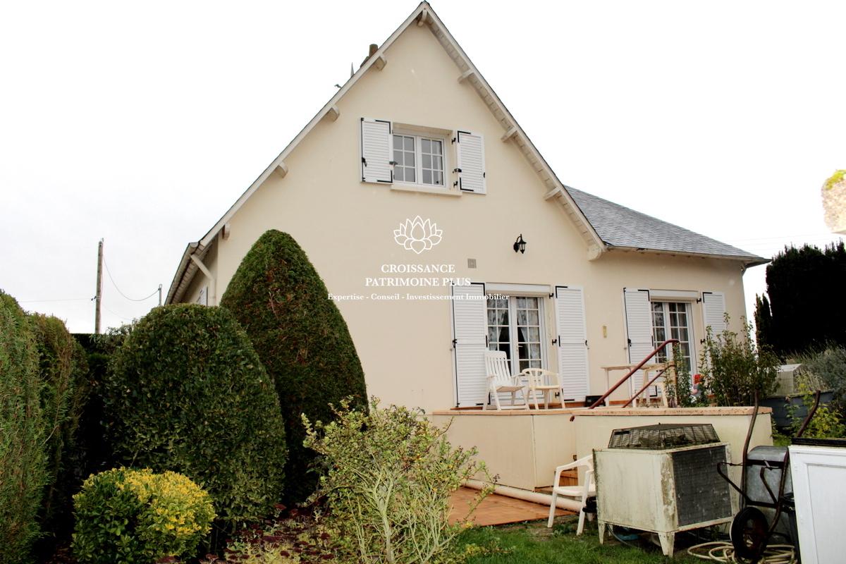 Nord de Blois : Maison en viager 117 m2, sise sur un terrain clos et arboré de 1600 m2